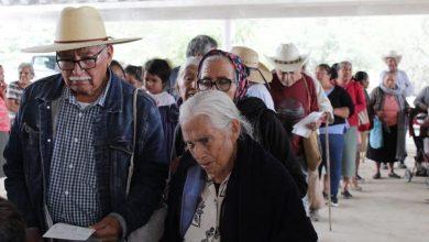 Photo of AMLO anunció doble apoyo de pensión para adultos mayores por contingencia.