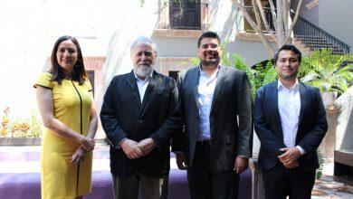 Photo of Diputados de morena en Querétaro se reúnen con  Alejandro Encinas, Subsecretario de Derechos Humanos.
