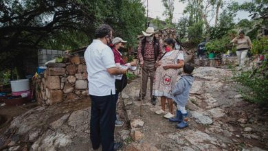 Photo of Familias queretanas en muy alta marginación son censadas por el Gobierno de México