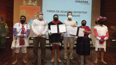 """Photo of """"Día histórico para Aldama y Chenalhó, comunidades que merecen vivir en paz en mejores condiciones"""": Alejandro Encinas"""