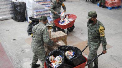 Photo of El Ejército Mexicano traslada más de 108 toneladas de víveres al estado de Tabasco