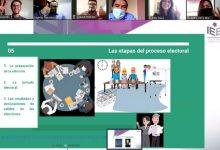 """Photo of Universitarios y organizaciones juveniles de Querétaro participan en la capacitación """"El Proceso Electoral y Ciudadanía""""."""